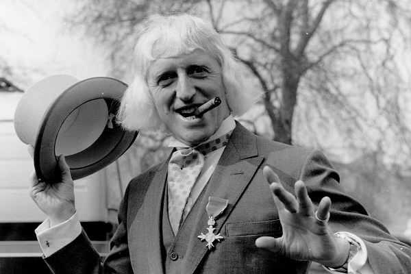 Jimmy Savile OBE, the BBC's licensed paedophile, in 1972. Image: Getty