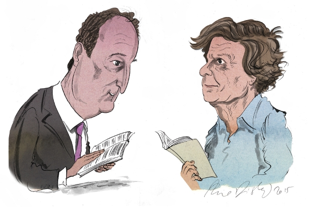 Charles Moore vs David Hare: a one-act play