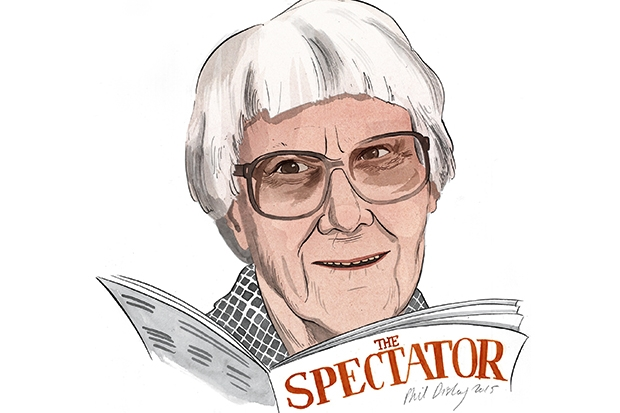 A letter from Harper Lee