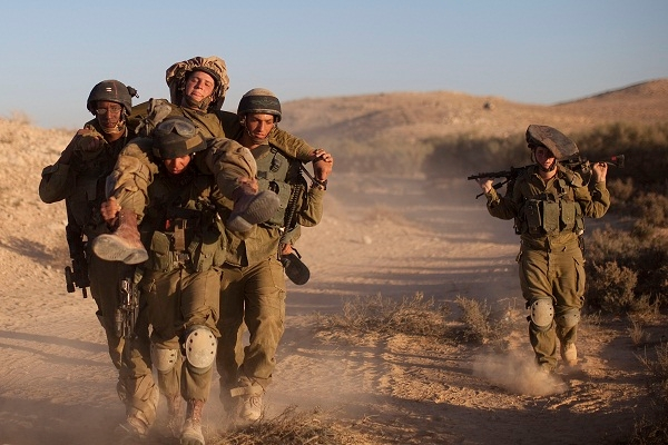 Is having women on the front line really a good idea? Image: Getty