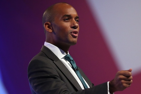 Chuka Umunna struggled to name business people who are supporting Labour