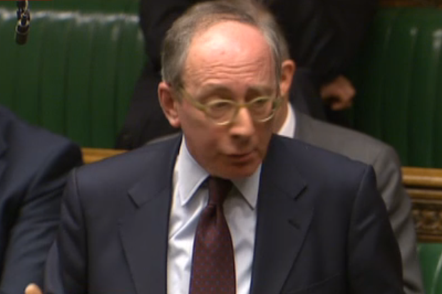 Sir Malcolm Rifkind delivered a stern message to the Commons (Photo: BBC)