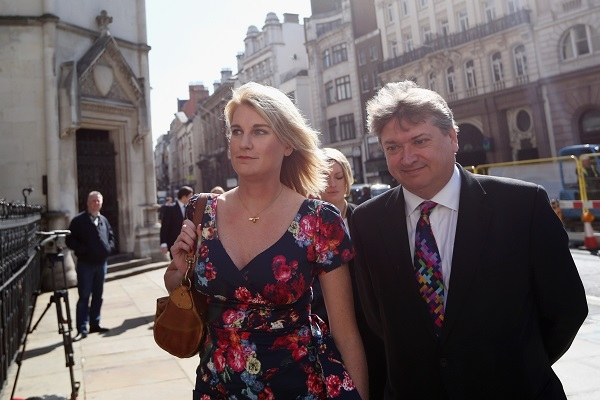 Sally Bercow In Court Over Tweet About Lord McAlpine