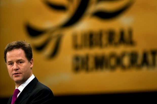 Put the liberal back into the Lib Dems (Photo: ADRIAN DENNIS/AFP/GettyImages)