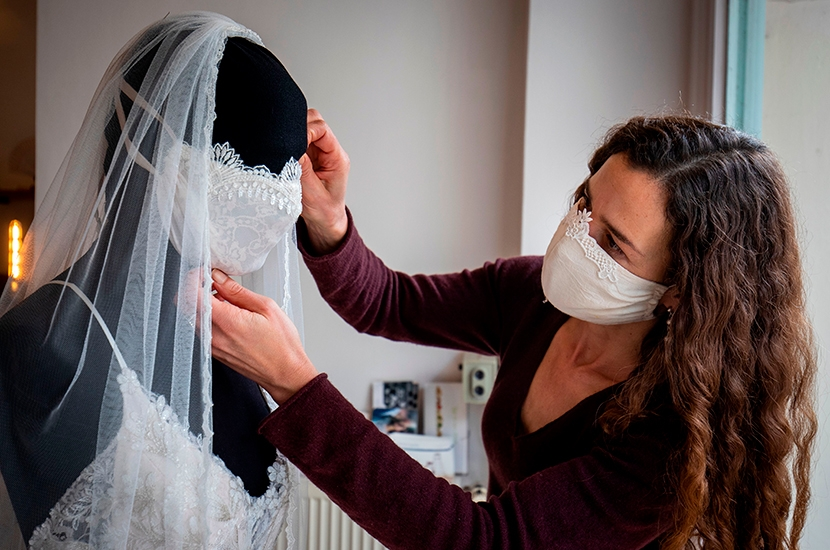 The competitive world of Covid brides