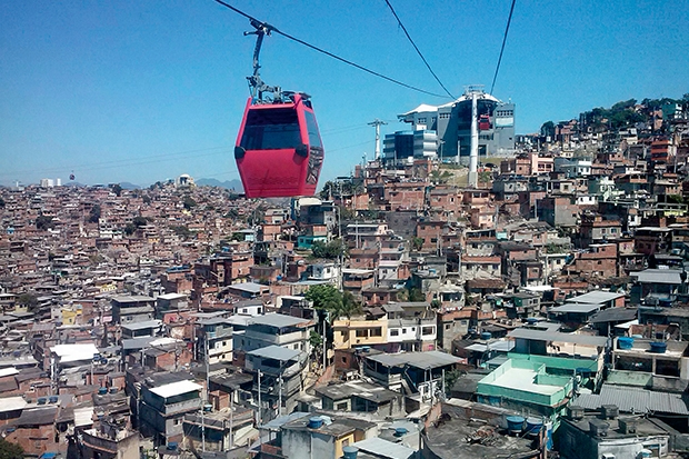 The first favela