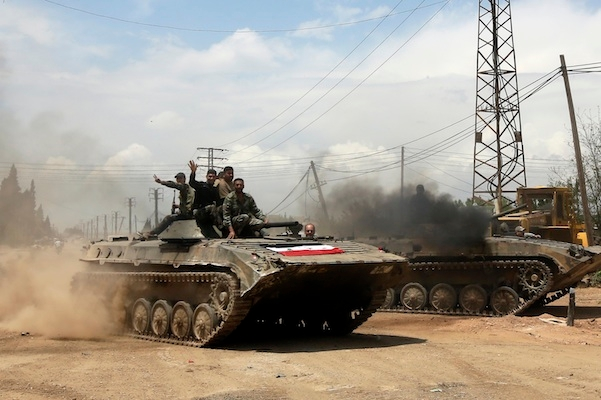 Arm Syria's rebels? That would be pouring petrol on a fire