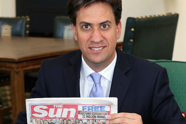 Ed Miliband, the next Prime Minister of Great Britain and Northern Ireland? Photo: The Sun.