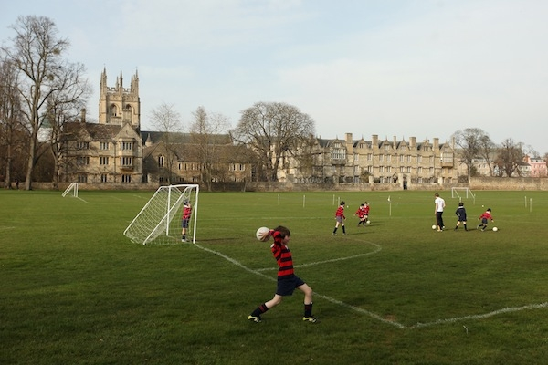 Daniel Moynihan's letter argues that schools don't need sweeping playing fields of their own to offer good sports lessons. Picture: Getty.