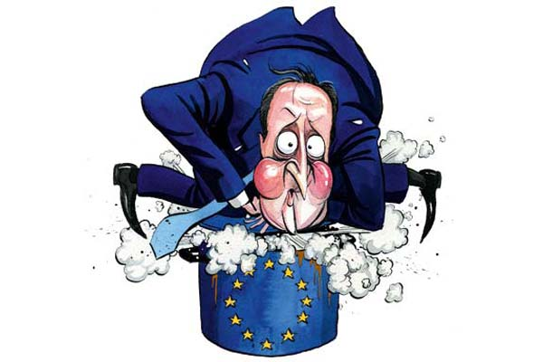 David Cameron has released an EU bomb today. But Spectator readers already knew he would do that.