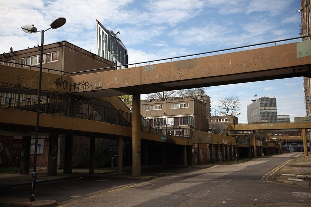 Social housing has lost all sense of society and relationships.