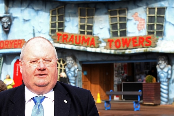 Eric Pickles Introduces The Tory Party Candidate