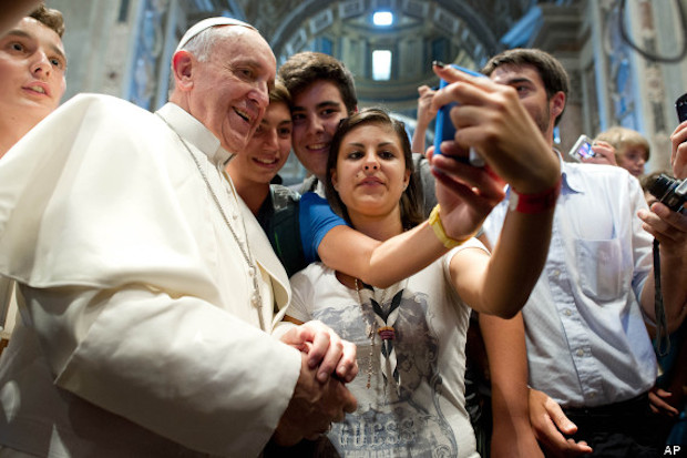 Pope Francis, darling of the world?