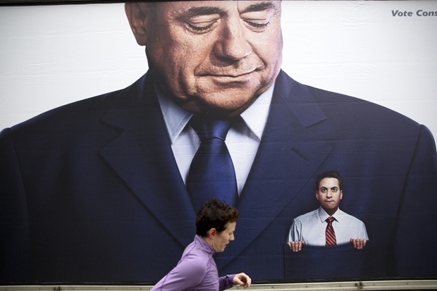 Alex Salmond sets out his terms for Ed Miliband