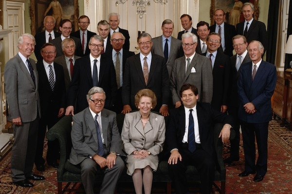 Working for Mrs Thatcher