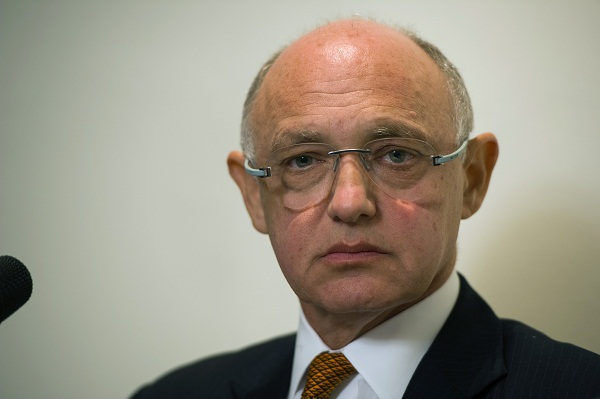 Argentina's Foreign Minister Hector Timerman stoked tensions over the Falkland Islands at a meeting in the UK Parliament earlier today. Image: Getty