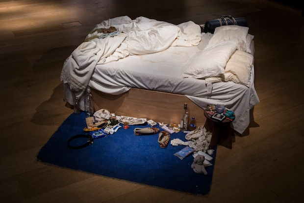 Tracey Emin's 'My Bed'. Picture: Getty Images