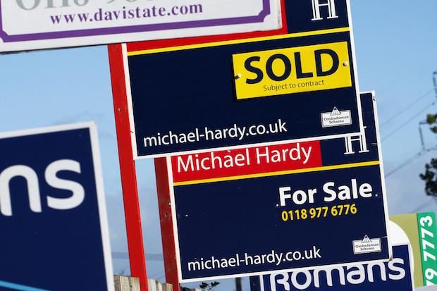 Estate Agents – how much longer will they be around? Image: ADRIAN DENNIS/AFP/Getty Images