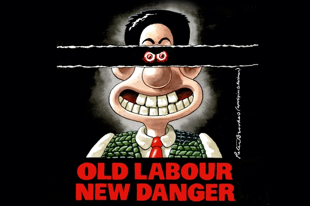 Ed Miliband says of politicians 'you could find people who look less like Wallace'. Cartoon: Peter Brooks