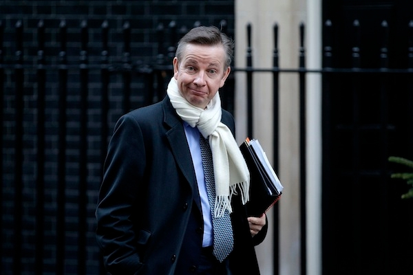 Michael Gove is to withdraw his appeal against his private emails being subject to FoI. Picture: Getty.