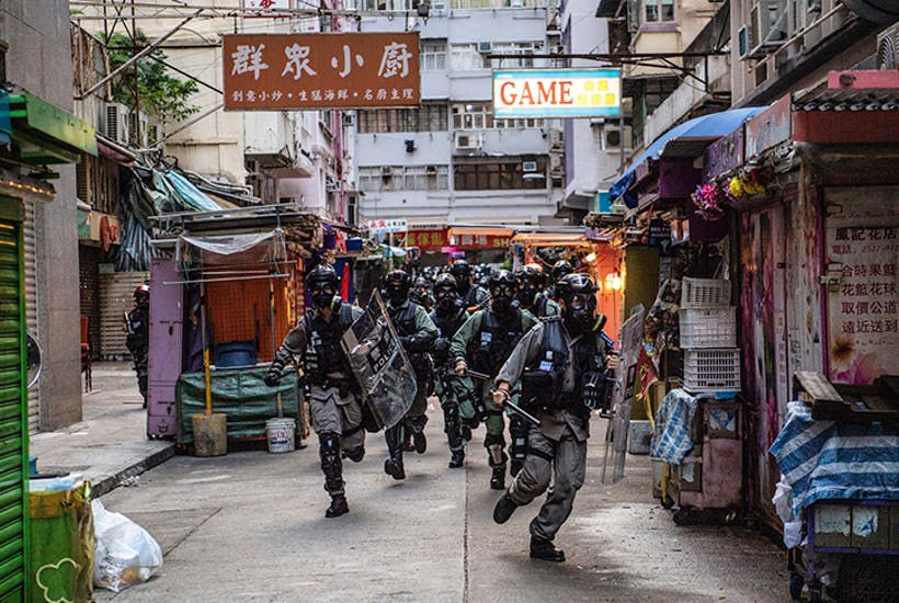 Brave front: The pro-democracy guerrilla fighters taking on Hong Kong's riot police