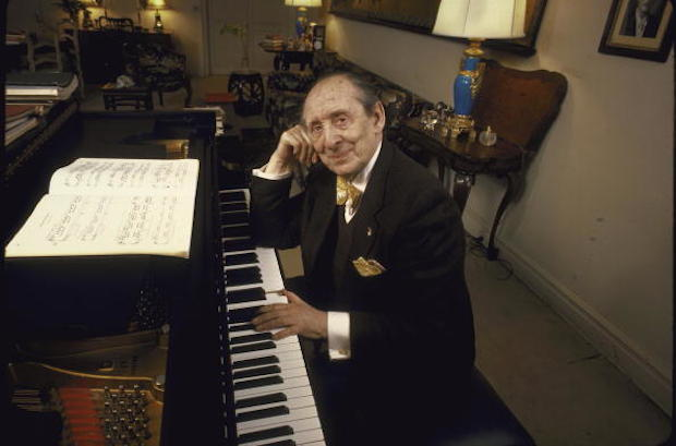 An 82-year-old Vladimir Horowitz at home in New York City. (Photo by Diana Walker//Time Life Pictures/Getty Images)