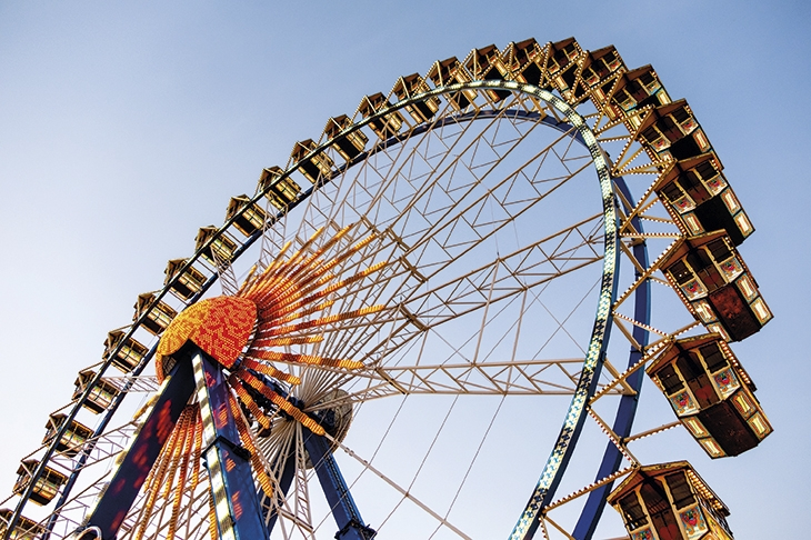 The rise and fall of amusement parks