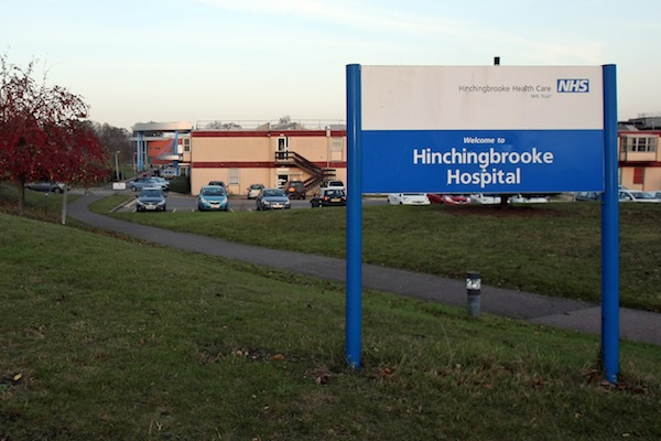 Hinchingbrooke Hospital stock