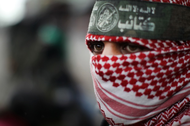 Why are the reporting restrictions imposed by Hamas not mentioned? (Photo: MAHMUD HAMS/AFP/Getty)