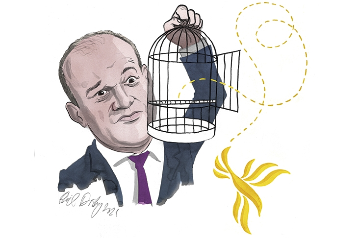 The new opposition: an interview with Ed Davey