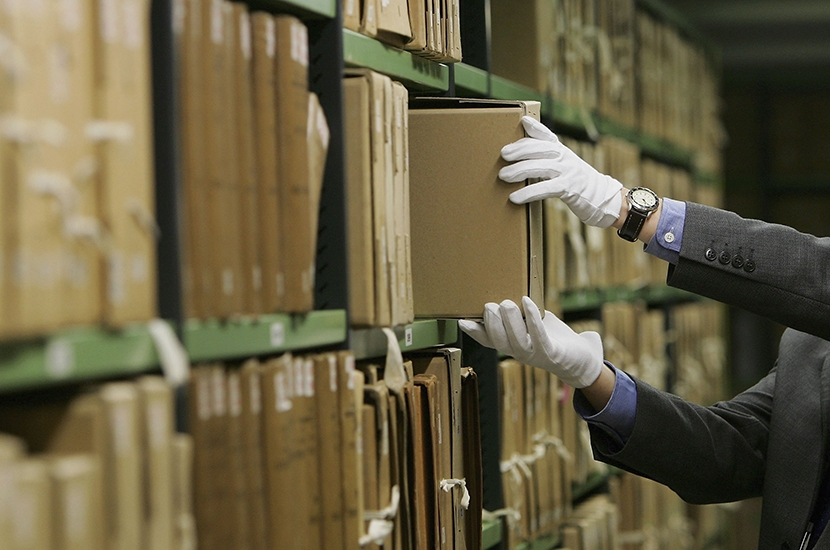 The National Archives are making historians history