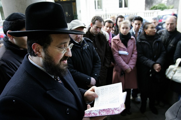 I am ashamed that anti-Semitism is sweeping Britain and Europe.(CARL DE SOUZA/AFP/Getty Images)