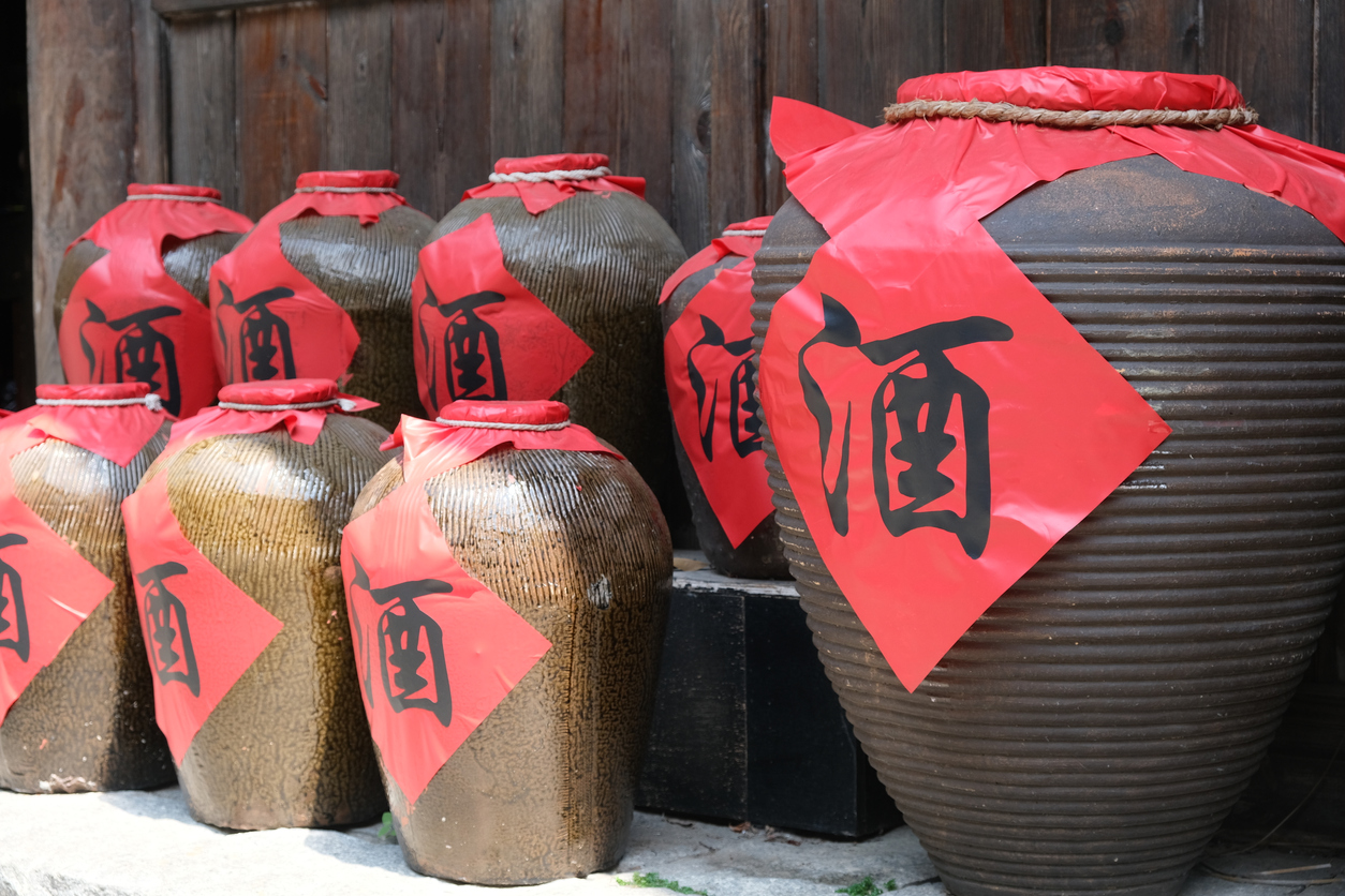 The Chinese love of drinking