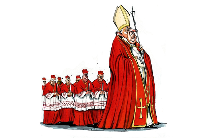 The Pope's cardinal errors