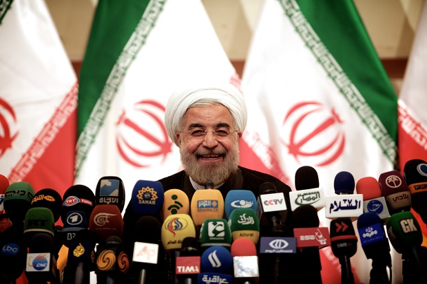 Iran went to Geneva with a plan: to buy time so that it can build a nuclear bomb. The international community, especially the West, had no plan. (ATTA KENARE/AFP/Getty Images)