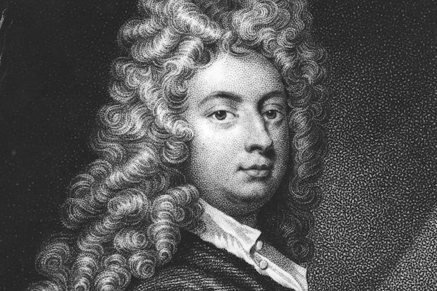 'It is the business of a comic poet to paint the vices and follies of humankind'. William Congreve. Image: Getty