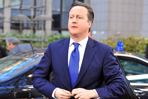 The Leveson Report could place David Cameron between a rock and a hard place on statutory press regulation. Image: Getty