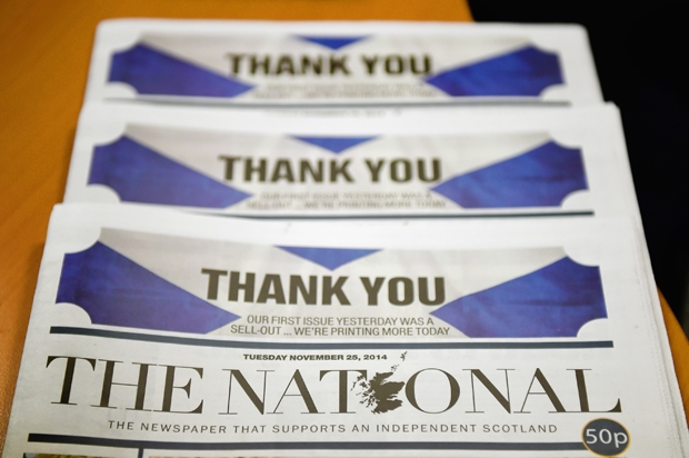 The National shows just how much danger the Union – and Scotland – is still in