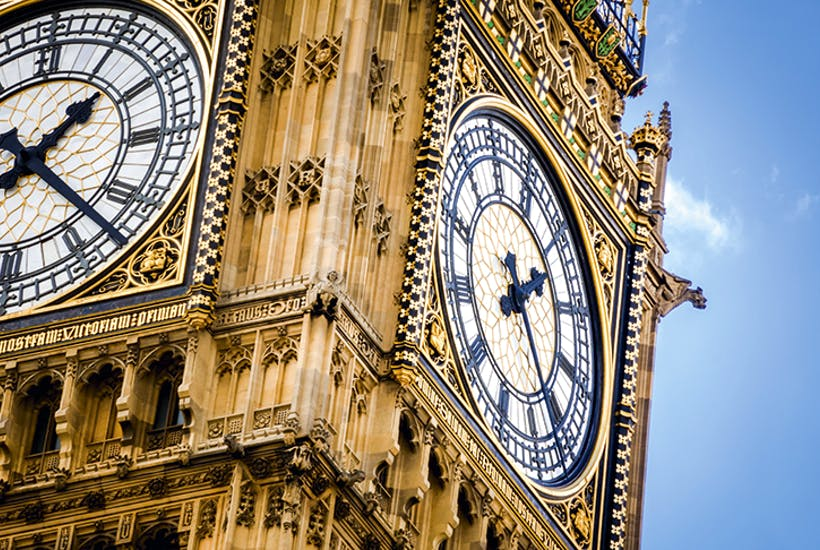Why does Big Ben bong on the radio before it does in real life?