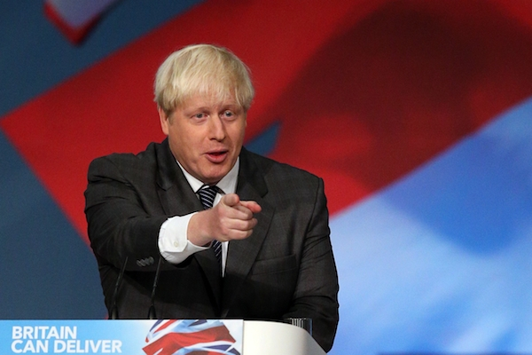 A new poll shows Boris Johnson could narrow the Tories' gap to Labour by 7 points. Picture: Getty Images