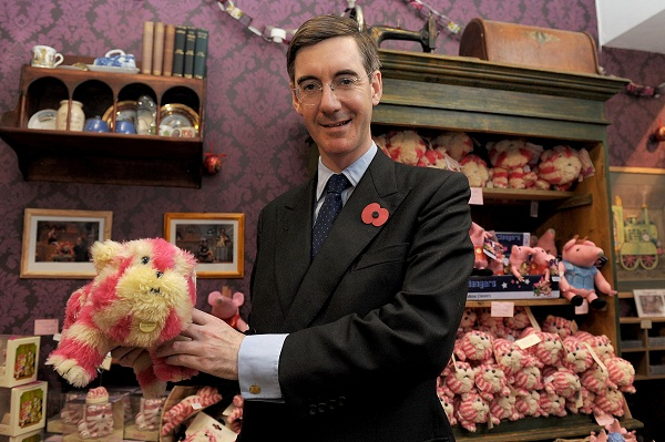 Rees-Mogg's spoof Twitter account has had  many a Moggette fooled. Image: Getty