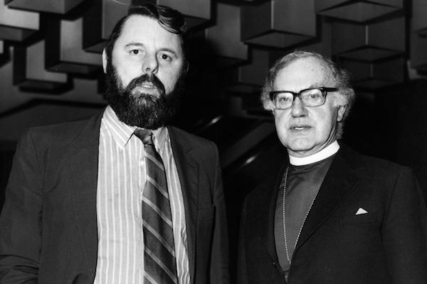 Terry Waite, while he was a special envoy to the Archbishop of Canterbury. Photo: Getty Images.