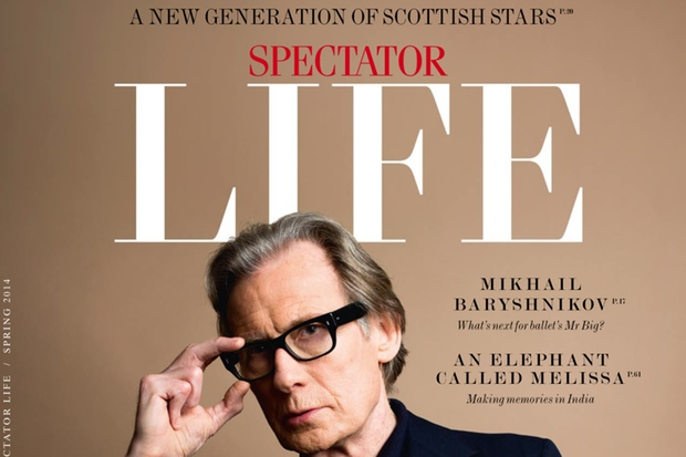 Spectator Life's Spring 2014 edition cover