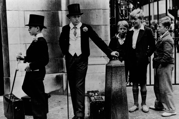 Toffs and toughs. Image: Getty