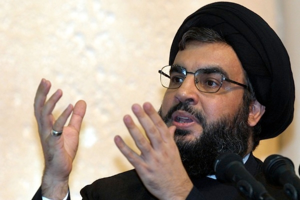 Hassan Nasrallah has called for a enforceable international law banning insults to Islam and other religions. Photo: Getty Images