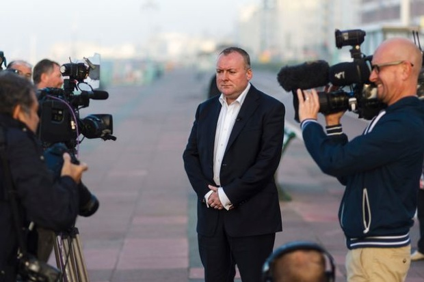 Damian McBride won't be welcomed back into Labour. Photo: Getty Images.
