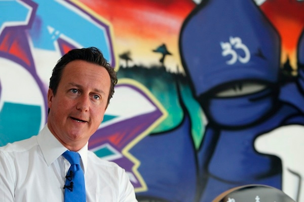 Prime Minister David Cameron Makes A Speech Following Last Week's Rioting