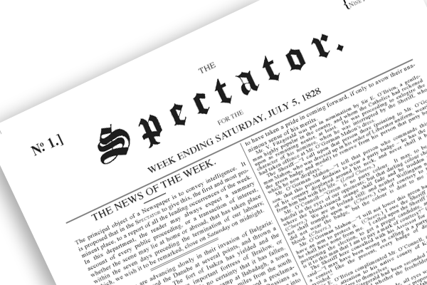 The Spectator has a long history of advocating press freedom.