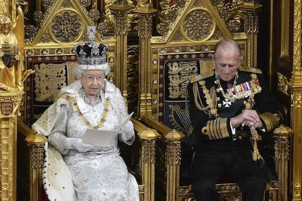 The Eurosceptics are planning to ambush the Queen's Speech this year. Photo: Getty Images.