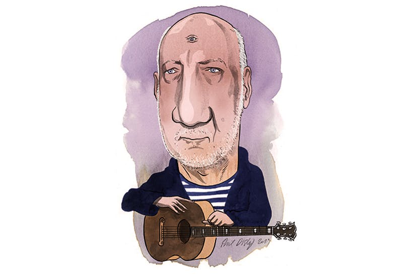 'My wife sends me sleep bubbles': The extraordinary world of Pete Townshend